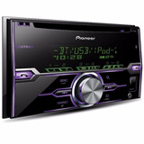 Autoestéreo Pioneer Fh-x720bt 2-din Cd Bluetooth Usb Ipod