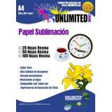 Papel A4 Para Sublimación, Tazas11oz, Sublimar,tintas,platos