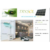 Aire Acondicionado 100% Solar Marca Trysol Ahorra 100% !!