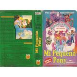 Mi Pequeño Pony La Pelicula Vhs Dibujos Animados Castellano