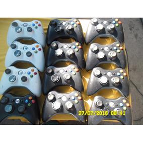 Controle De Xbox 360 Funcionando Pequeno Defeito