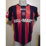Camiseta San Lorenzo Lotto Libertadores 2008 Bergessio #15 L