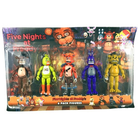 Five Nights At Freddy Kit 5 Bonecos Na Caixa, Pronta Entrega