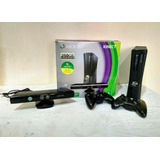 Xbox 360 , 250gb + 2 Controles S/ Fio + Kinect