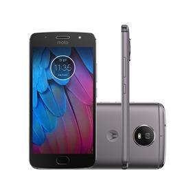 Smartphone Motorola Moto G G5s Platinum 32gb Dual Android 7
