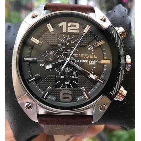 83f450935d87 Diesel Reloj Hombre Correa De Cuero - Relojes Exclusivos en Mercado ...