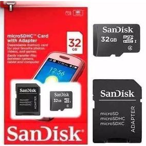 Cartão De Memoria Sandisk 32gb Micro Sd