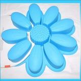 Molde De Flor Gigante Tortas Gelatinas Quesillo