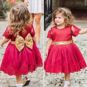 Vestido De Niña Moño Lentejuela Paje Dama Incluye Tiara
