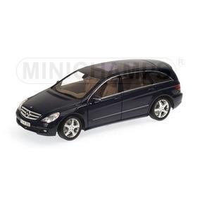 Miniatura 1/18 Minichamps Mercedes-benz R Class 2005 Preta
