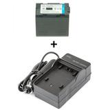 Kit Bateria Cgr-d28 + Carregador Panasonic Ag-dvc80