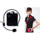 Parlante Megáfono Micrófono Portátil Usb Sd Fm Karaoke Recar