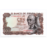 España 100 Pesetas 1970 Unc