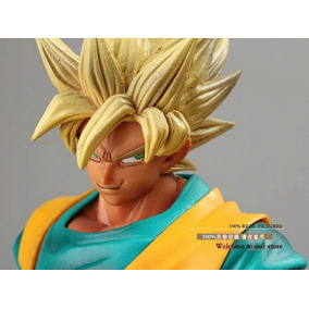Action Figure Goku Ss Nvl 2 Dragon Ball Z - Pronta Entrega