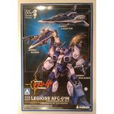 Macross Robotech Mospeada Alpha Azul Legioss
