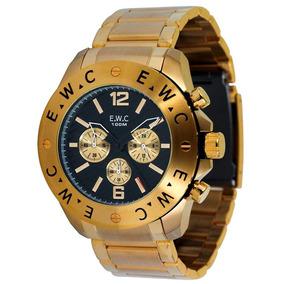 e1ba5bb56ef Juros! Relogio Ewc Emt13211 Z Azul Estilo Invicta 12 X S - Relógios ...