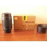 Lente Nikon 70-300 Mm 1.4- 5.6g Af Nikkor Poco Uso