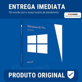 Windows 8.1 Professional Pro 32 / 64 Bits - Chave Do Produto