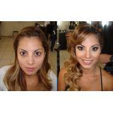 Maquilladora Profesional:peinados, Novias,15 Años, Social