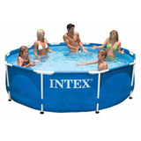 Pileta Intex 305 X 76 Estructural Red Voley De Regalo