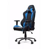 Akracing Nitro Gaming Chair Blue Silla Gamer Rosario Cyber