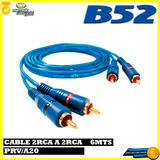 Cable 2rca A 2rca 6 Metros B52 Pvr/a20- Electrónica Suipacha