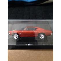 Miniatura Chevelle Ss 396 1:64 Pneus Borracha Série Especial