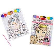 Libro Para Pintar Con Agua Melissa & Doug. Princesas.