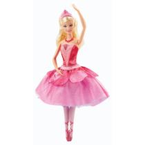 Barbie Zapatillas Magicas. Original. Cambia Al Girar.
