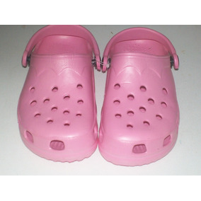 Sandalias O Cholas Tipo Croc Niñas Color Rosado San Felix
