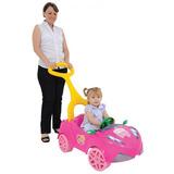 Carro A Pedal Com Empurrador Moranguinho Baby - Xalingo
