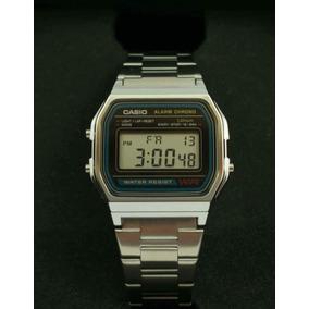 Reloj Casio Retro Unisex A158wa-1d Envío Gratis A Todo Chile