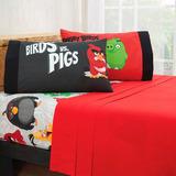 Jgo De Edredon Angry Birds +sabanas+cortinas Vianney