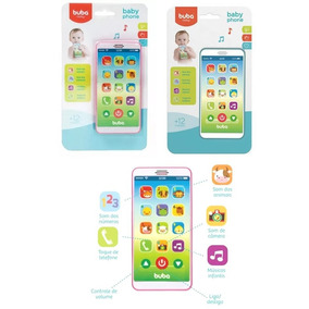 Baby Phone Buba Celular Para Bebês