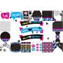 Kit Imprimible Patrones Para Fiesta Monster High