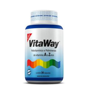 Aumenta A Imunidade-vitaway 100%idr - 30 Caps - Fitoway®