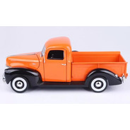 Auto Escala Replica Ford Pickup 1940 Coleccion 1:18 Motormax