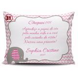 20 Almofadas Personalizadas Nascimento Maternidade Chá 15x20