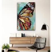 Cuadros Decorativos Modernos Canvas Obra De Arte Mariposa