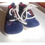 Zapatillas Botitas Bebe Baby Gap Azul 6 A 12 Meses