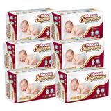 Caja Huggies Supreme P&n Rn Paq. 6 Paquetes Con 38pz (22...