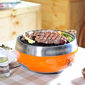Churrasqueira Portátil A Carvão Getgrill Grillerette + Pinça