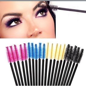 Cepillo Para Extensiones De Pestañas Maquillaje Ojos Spa