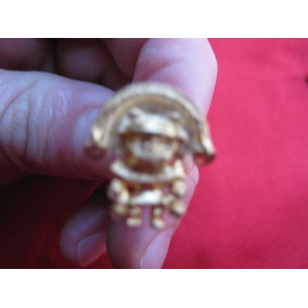 Hermosos Zarcillos Con Figura Prehispánica