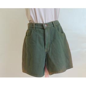 Short Verde A La Cintura Retro
