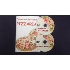 Como Montar Uma Pizzaria. Dvd´s + Livreto - Envio Grátis!!!