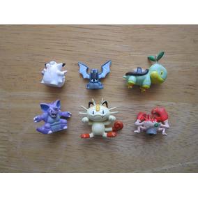 Varias Mini Figuras Pokemon En 60.00 Cada Una