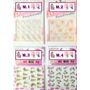 Calcomanias, Etiquetas O Stickers Para Decorar Uñas