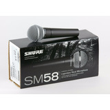 Microfono Dinamico Profesional Shure Sm58-lc Cardioide Envio