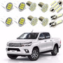 Kit Lâmpadas Super Led Xenon Top Nova Toyota Hilux 2015 2016